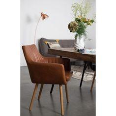 Krzesło PIKE, brązowe