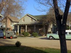 Andy Taylors  residence from the Andy Griffith show.