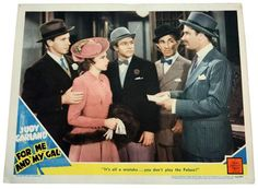 Lot 8 - A rare lobby card of Judy Garland in M.G.M film 'For Me and My Gal` from 1942. The lobby card is