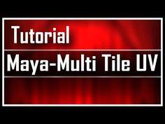 Maya Multi Tile UV - YouTube