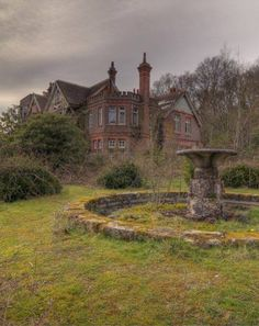 The mossy old fountain keeps many a wish in this abandoned old secret garden.  Potter's mansion; Europe  Alberto Mateo, Travel Photographer