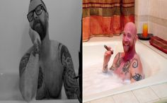 Bath Tub Interview with Buck Angel: Porn Star, Motivational Speaker, Trans Man & Awesome Dude!