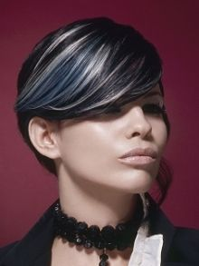 Silver Highlights On Black Hair | Home / Celebrity ...