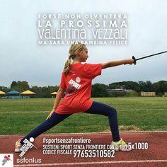 @Regrann from @ssfonlus -  Cosa rende un bambino davvero felice? Muoversi divertirsi giocare insieme. Crescere un passo per volta facendo sport con tanti nuovi amici lontano dalla strada per avere una vita sana e un futuro sereno.  Sostenere i nostri bambini non ti costerà nulla. Basta solo una firma. Dona il tuo 51000 a Sport Senza Frontiere: codice fiscale 97653510582.  #vezzali #valentinavezzali #SportSenzaFrontiere #campione #campioni #campionessa #campionesse #forzaragazzi #orgoglio…