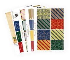 Harry Potter Inspired Full Kit | Erin Condren Planner Stickers