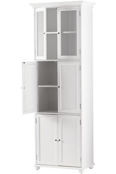 Offer Ample Storage Space For Your Bathroom With Home Decorators Collection Hampton  Bay Bathroom Linen Storage Tower Cabinet In White.