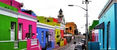 More colorful houses