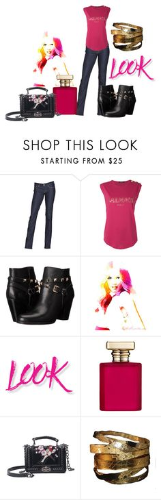 """""""Lookin Good"""" by leelee107 ❤ liked on Polyvore featuring Levi's, Balmain, GUESS, NYX and ORMONDE JAYNE"""
