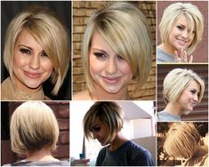 Chelsea Kane bob - this is the haircut I have now and I love it.  I can wear it curly or straighten it.  I did the low lights under neath and blonde on top too.  I've been told it makes me look younger LOL...a girl will take all the flattery she can get :)