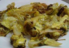 Omelette aux endives - auxdelicesdemanue