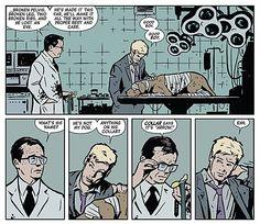 Hawkeye #1 by Matt Fraction and David Aja.