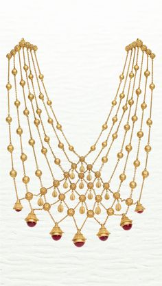 Azva contemporary bridal gold necklace #Goldjewellery #luxury #style