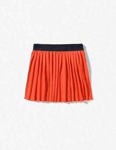 accordian pleat skirt