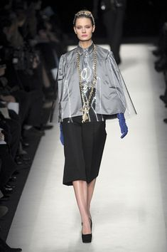 Yves Saint Laurent at Paris Fashion Week Fall 2010 - Runway Photos