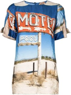 This multicoloured Motel print top from features a round neck, short sleeves with a split layer, and a rear keyhole detail. N21, Motel, Women Wear, Baby Boy, Short Sleeves, Clothes For Women, Mens Tops, Fashion Design, Shopping