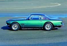 1961 Maserati 5000 GT Indianapolis by Allemano