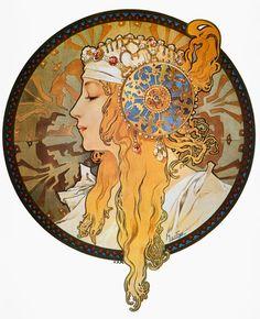 Granger Art on Demand > Mucha: Poster, C1900.