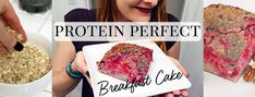 Protein Perfect Breakfast Cake Recipe – Holly Perkins