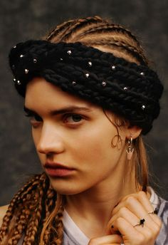 Wool and the Gang X Maria Francesca Pepe   #woolandthegang #MFP #collab #jewelry #knit #hat #customized