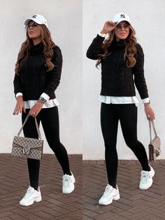 Sporty Outfits, Casual Winter Outfits, Winter Fashion Outfits, Mode Outfits, Classy Outfits, Look Fashion, Stylish Outfits, 80s Fashion, Vintage Fashion