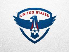 USA kick ball by Brandon Moore