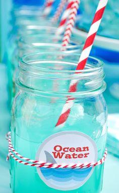 Ocean Water Blue Punch