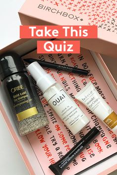 What's your beauty personality? Free gift with subscription! Love Makeup, Makeup Tips, Beauty Makeup, Beauty Quiz, Bath N Body Works, Perfume, Beauty Cream, Beauty Box, Skin Makeup