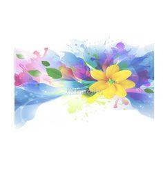 Watercolor Lily  Garden