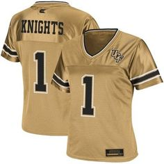 UCF Knights #1 Women's Stadium Football Jersey - Gold. Ordered in plenty of time for football season :)
