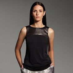 Narciso Rodriguez for DesigNation Sequin Top