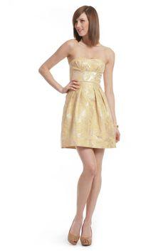 BCBGMAXAZRIA Tea Room Tapestry Dress: Size 10