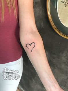 Heart tattoo Vintatts