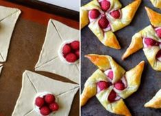 Bake up a better breakfast with a quick and easy recipe for cream cheese pinwheel pastries studded with fresh raspberries. Cream Cheese Pinwheels, Cream Cheese Pastry, Cream Cheese Coffee Cake, Cream Cheese Recipes, Pastry Recipes, Dessert Recipes, Muffins, Cinnamon French Toast, How To Make Breakfast