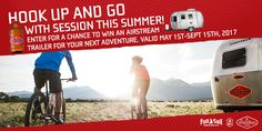 Enter for a chance to win and Airstream trailer for all your adventures!