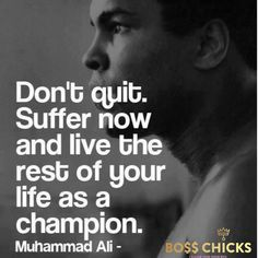 #mohammadali #suffering #dontquit #putinthework