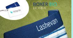 Boxer bio Homme en tissu Tencel : Fibre d'eucalyptus pour une Température Parfaite des parties intimes - Boxer Bio Homme Lashevan