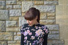 GANNI floral dress | lornaluxe