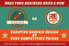 Graphic Design Window Poster. #Design #GraphicDesign #Creative #Logo #Promotional #minutnemanpress