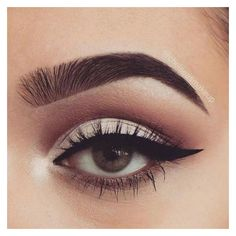 Facebook ❤ liked on Polyvore featuring beauty products, makeup, eye makeup and eye look