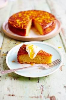 Tried & tested Orange & polenta cake. It's great for when you need to make something gluten free. I also couldn't find polenta so used corn meal. Fruit Recipes, Sweet Recipes, Cake Recipes, Dessert Recipes, Cooking Recipes, Healthy Recipes, Dessert Bread, Grilling Recipes, Bread Recipes