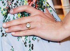 Diana agrons engagement ring