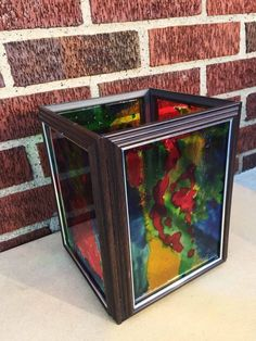 stained glass lanterns, crafts