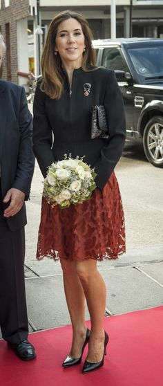 11.09.14 Crown Princess Mary today attended a meeting for DaneAge, on their meeting about loneliness.