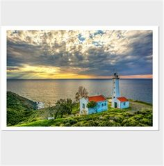 Sarpıncık Feneri Kendin Tasarla - Kanvas Tablo 90x60cm Yatay