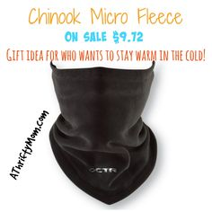 Chaos-CTR Chinook Micro Fleece On Sale $9.72 - Gift Idea for Anyone Who Wants to Stay Warm in the Cold #StayWarm #StockingStuffer