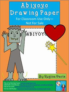 FREE...Abiyoyo Drawing Paper: My students LOVE doing this activity when we read the story Abiyoyo by Pete Seeger! Perfect literature for Halloween time without a Halloween theme. Fairytales And Fiction By 2