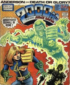 Cover for 2000 AD (IPC, 1977 series) #427