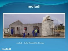low cost housing building systems in africa by moladi Low Cost Housing, Innovation, Concrete Houses, How To Get Abs, Agent Of Change, Building Systems, Affordable Housing, Design Museum, Modern Buildings