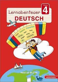 BUCH - Lernabenteuer Deutsch Klasse 4, Reise um die Erde - Mascha Greune