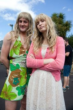 Fake girl Axl and...real girl Axl #almightyjohnsons
